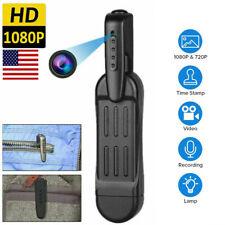 HD1080P Pocket Pen Camera Hidden Mini Portable Body Cam Video Recorder DVR DV DC