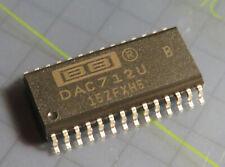 DAC712UB 16bit DAC with 16-Bit Bus Interface, Burr Brown