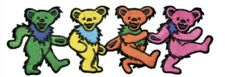 Grateful Dead Dancing Bears Embroidered Patch G006P Phish Jerry Garcia Hendrix