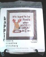 "Kappie Originals Humble Needle Craft Wall Panel Kit Creative Stitchery 13"" x 13"""