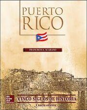 Puerto Rico Cinco Siglos de Historia (4ta edicion) con CD