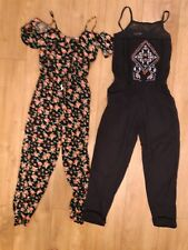 2 GIRLS JUMPSUITS AGED 9 YEARS