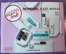 ULTA Beauty Skincare Sleep 10 PC Beauty Kit~Tula Mario Badescu Skyn Lashfood~NIB