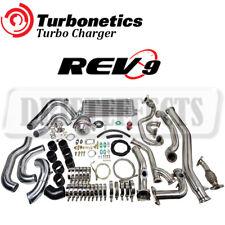 TURBONETICS BOLT ON T3 60-1 TURBO CHARGER KIT FITS 03-06 350Z Z33/G35 VQ35DE 3.5