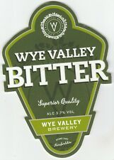 WYE VALLEY BREWERY - WYE VALLEY BITTER - PUMP CLIP FRONT