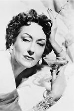 Gloria Swanson As Norma Desmond Holding Glass Sunset Boulevard 11x17 Mini Poster