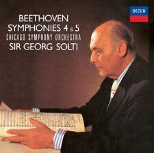 Beethoven: Symphonies 4 & 5 [New CD] Rmst, Japan - Import