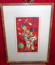Framed Lithograph - Juggler - Mervin Jules