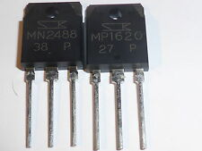Sanken MP1620 + MN2488 TO-3P PAIR  Power Transistor MP1620/MN2488MP