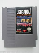 Jeopardy! Based on the Top Hit TV Game Show! (Nintendo NES, 1988) NTSC/US/CA