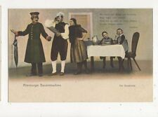 Altenburger Bauerntrachten Vintage Postcard Germany 398a