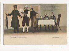 Altenburger Bauerntrachten Vintage Postcard Germany 398a