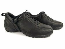 CAT Caterpillar Derby Shoes Leather Granulated Black T 41/UK 7/US 8 Very Good (