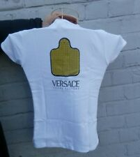 Versace Profumi ladies jeans couture t shirt medium only £11.99 free p&p!!!