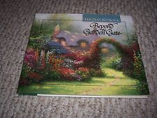 1997 Beyond the Garden Gate Artist Thomas Kinkade Thoughts and Poetry HC/DJ