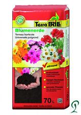 Pflanzerde Blumenerde Substrat mit Startdüngung 16 x 70 Liter. 0,20 cent pro Ltr