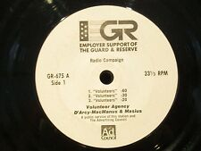 "7"" PSA Employer Support Of The Guard And REserve Paul Revere"
