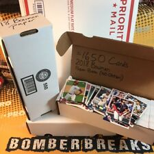 1,650 2018 Bowman Paper Base Cards (No Ohtani) Lot Set Builder from Live Breaks