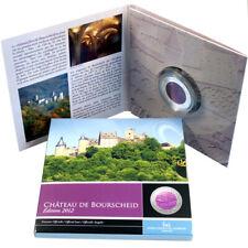 Luxemburg 5 Euro Gedenkmünze 2012 PP Silber Niob Burg Burscheid Proof Folder