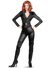 Avengers Black Widow Costume Natasha Romanoff Scarlett Johansson Disguise 18-20