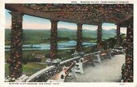 Postcard Mission Cliff Gardens San Diego California