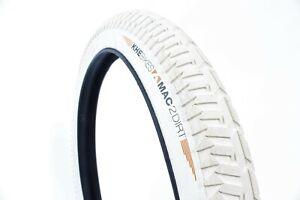 """Khe Bmx Bike Tyre  Mac2+, Creme-White, 20""""X2.30"""", Dirt"""