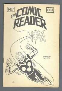 - -> The COMIC READER #129 ... 1976 Comic Fanzine ... NOVA