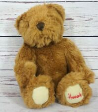 "Harrods Knightsbridge Plush Bear Teddy Bear 9"" Fuzzy Stuffed Bear Plush Animal"