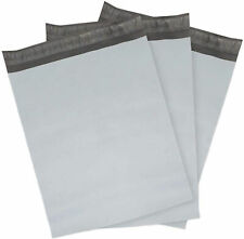 White Poly Mailers Envelopes Shipping Bags Self Sealing 25 Mil