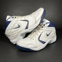 Nike The Overplay 3 Basketball Trainers Shoes White Sports Size UK 9 / EUR 44