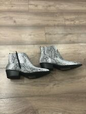 Primark Woman Ankle Boots  Uk7/eur40 Snake Leather