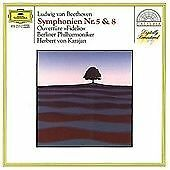 Beethoven: Symphonies Nos 5 & 8, , Very Good
