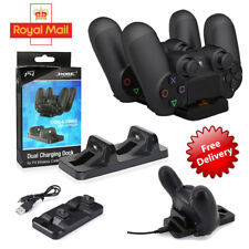 Dual Controller Charger Station Stand Charging for Playstation PS4 New Trendy