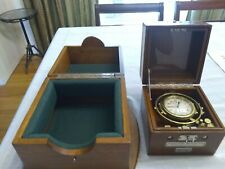 "Wwii. Hamilton Model 22.Chronometer Watch,Double Box ""Fine Original Condition"""