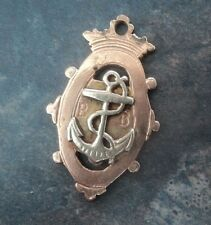 More details for rare early 9ct gold ambulance fob medal - helenburgh boys brigade 1902 glasgow