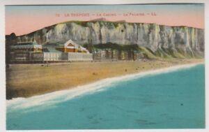France postcard - Le Treport - le Casino - La Falaise - LL No. 73 (A202)
