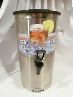 BUNN  Commercial Iced Tea Dispenser Oval with Solid Lid  4 Gallon Model TDO-4