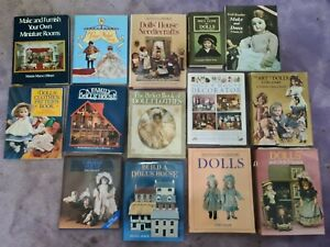 JOBLOT 14 X DOLLS HOUSE  Collection cloths pattern craft art decoration BOOKS