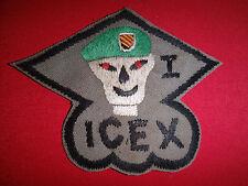 MACV-SOG ICEX Intelligence Collection & Exploitation Vietnam War Hand Made Patch