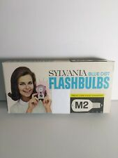 Sylvania M2 Blue Dot Flashbulbs 12 per pkg NOS
