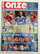 ONZE MONDIAL N°237 OCTOBRE 2008 LES FRANCAIS EN CHAMPIONS LEAGUE