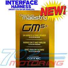 NEW iDATALINK MAESTRO ADS HRH-RR-GM5 GM HARNESS & CHIME / ONSTAR SPEAKER COMBO