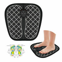 EMS Electric Foot Massager Mat Stimulator Relax Pain Relief Therapy Massage NEW