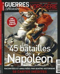 Guerres et Histoire Hors-série n°4 Les 45 batailles de Napoléon État neuf