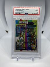 TOPPS PROJECT 2020 GEORGE BRETT x GREGORY SIFF #11 PSA 9 MINT SP ROYALS 🔥