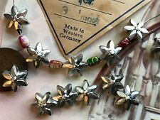 50 Vintage Garland Beads, Flower Beads, Western Germany Beads, Lucite Beads, B1