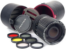 PENTAX 400-600mm Reflex Zoom + Filters + Case ===Mint===