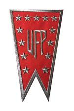 Star Trek United Federation of Planets Patch Red Banner Logo Embroidered Iron On