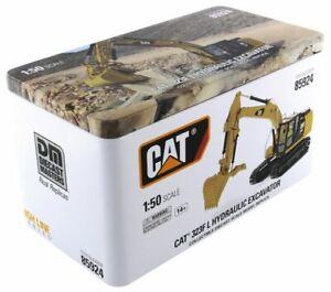 DM 1:50 CAT 323F L Hydraulic Excavator Alloy Engineering Truck Vehicle 85924
