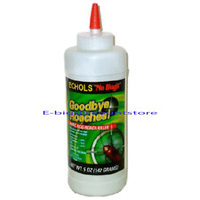 ECHOLS No Bug Boric Acid Roach Killer Palmetto bugs, Waterbugs, Ants, Powder 5oz